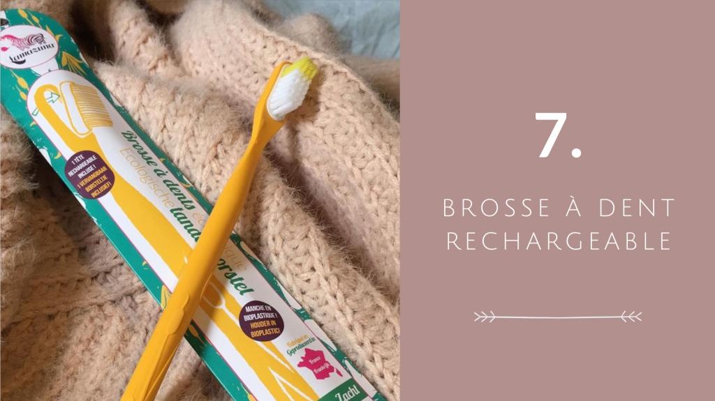 Indispensable 7 pour voyager éco-responsable : Indispensable 1 pour voyager éco-responsable : brosse à dent rechargeable