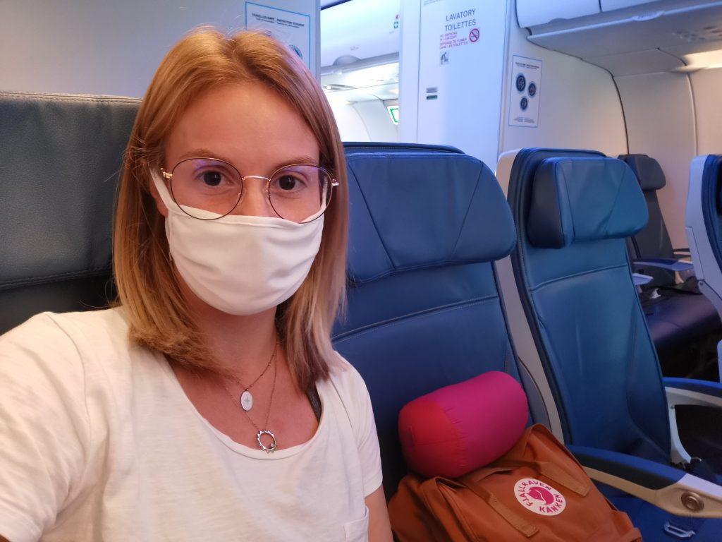 dans l'avion pvt canada
