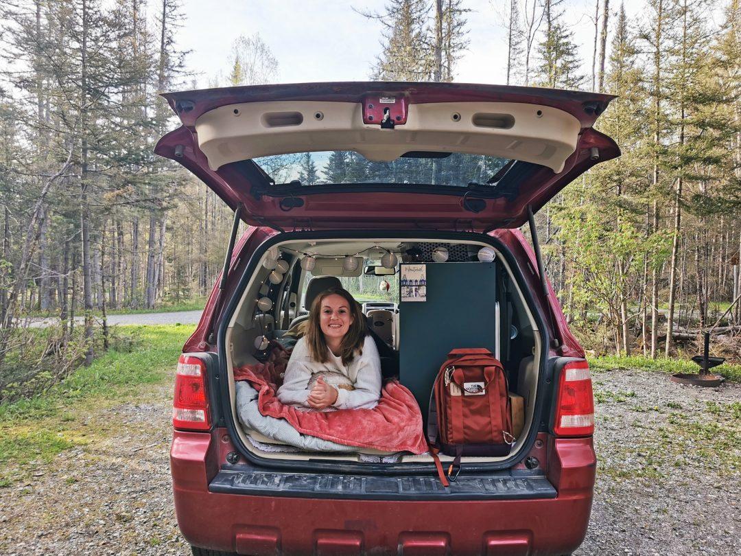 ford escape transformation suv camper canada